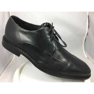 COLE HAAN Mens Oxford Black Leather Apron Toe 11